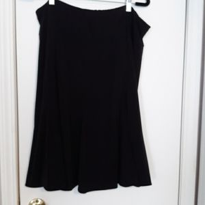 😺5/$20 East 5th Woman Wardrobe Basic Black Skirt